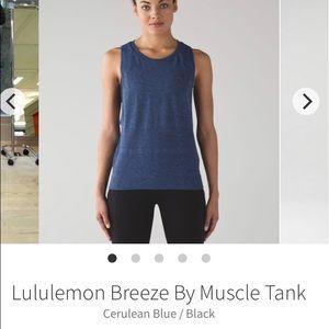 Lululemon breeze by muscle tank